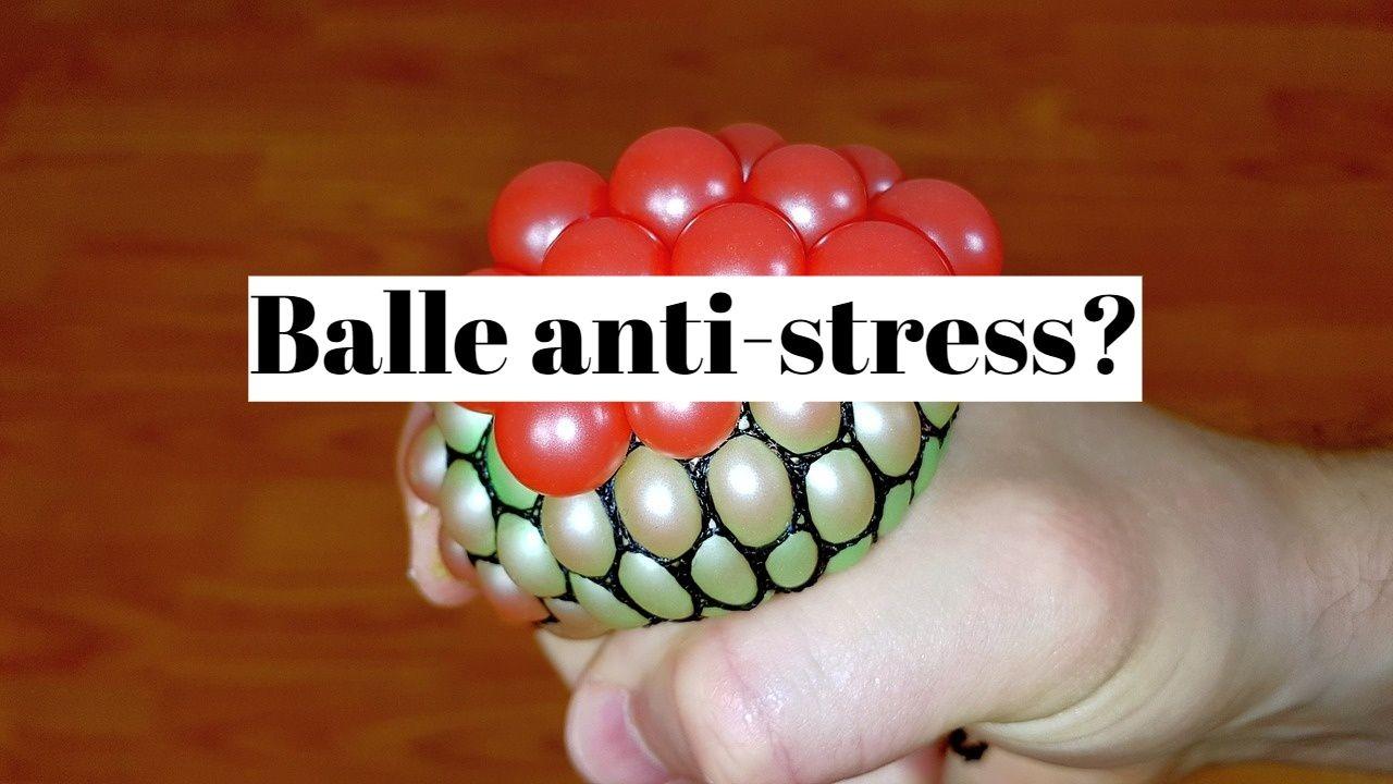 Balle anti-stress: est-ce aussi efficace que bien respirer?